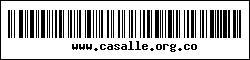 Código de barras de CASALLE